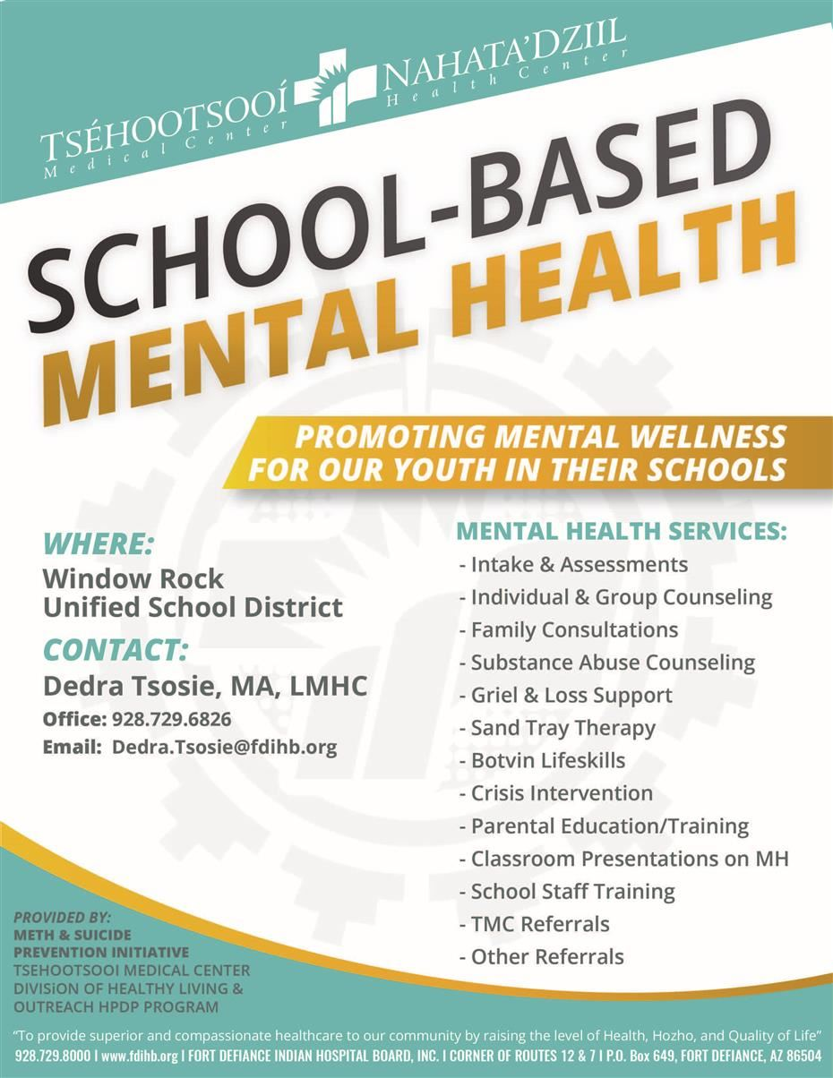 School Based Mental Health